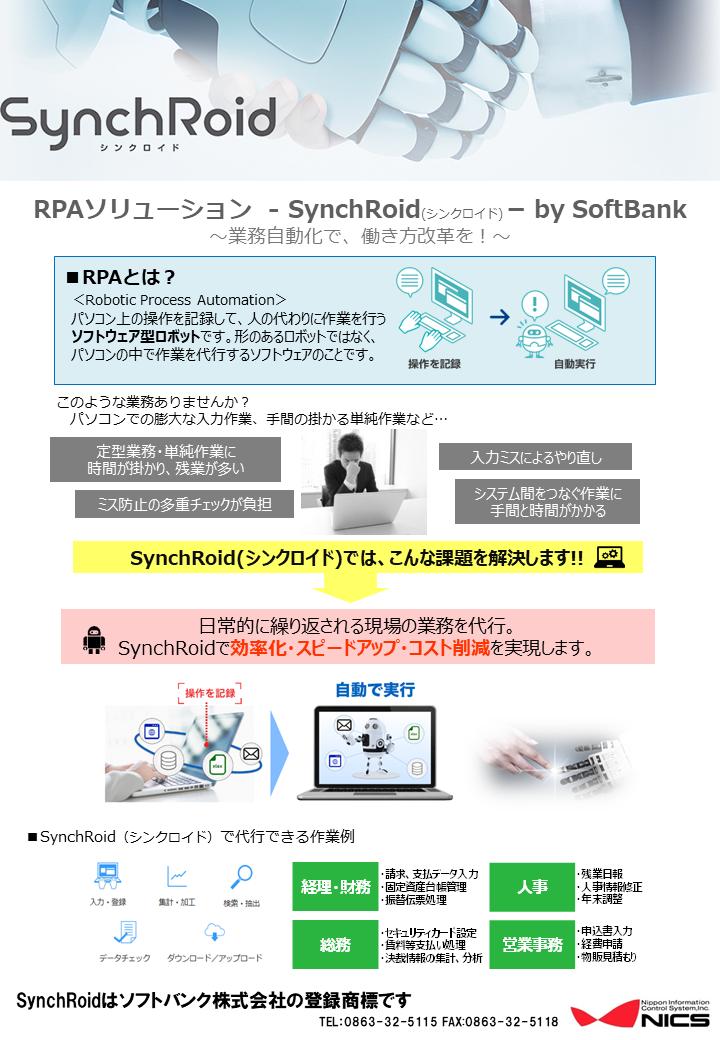 説明図:SynchRoidについて